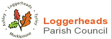 Loggerheads Parish Council Logo